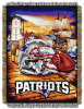NFL New England Patriots Home Field Advantage 48x60 Tapestry Throw