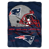 NFL New England Patriots 60x80 Super Plush Throw Blanket