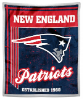 NFL New England Patriots Sherpa MINK 50x60 Throw Blanket