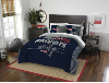 NFL New England Patriots QUEEN Comforter and 2 Shams