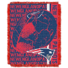 NFL New England Patriots SPIRAL 48x60 Triple Woven Jacquard Throw