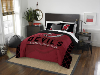 NHL New Jersey Devils QUEEN Comforter and 2 Shams