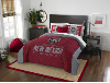 NCAA New Mexico Lobos QUEEN Comforter and 2 Shams