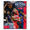 NBA New Orleans Pelicans Anthony Davis 50x60 Silk Touch Blanket