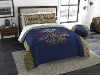 NBA New Orleans Pelicans QUEEN Comforter and 2 Shams