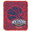 NBA New Orleans Pelicans 48x60 Triple Woven Jacquard Throw