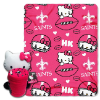 NFL New Orleans Saints Hello Kitty Hugger