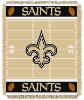 NFL New Orleans Saints Baby Blanket
