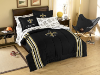 NFL New Orleans Saints Embroidered Comforter TWIN/FULL