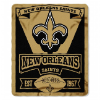 NFL New Orleans Saints 50x60 Fleece Throw Blanket