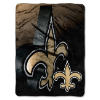 NFL New Orleans Saints BEVEL 60x80 Super Plush Throw