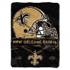 NFL New Orleans Saints 60x80 Super Plush Throw Blanket