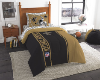 NFL New Orleans Saints TWIN Size Bed In A Bag