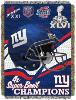NFL New York Giants Commemorative 48x60 Tapestry Throw