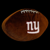 NFL New York Giants 3D Football Pillow