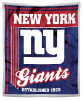 NFL New York Giants Sherpa MINK 50x60 Throw Blanket