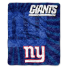 NFL New York Giants Sherpa STROBE 50x60 Throw Blanket