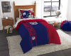 NFL New York Giants TWIN Size Bed In A Bag