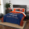 NHL New York Islanders QUEEN Comforter and 2 Shams