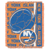 NHL New York Islanders 48x60 Triple Woven Jacquard Throw