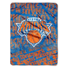 NBA New York Knicks 50x60 Micro Raschel Throw