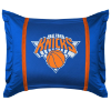NBA New York Knicks Pillow Sham - Sidelines Series