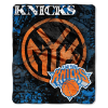 NBA New York Knicks REFLECT 50x60 Raschel Throw