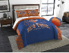 NBA New York Knicks QUEEN Comforter and 2 Shams