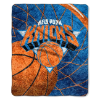 NBA New York Knicks SHERPA 50x60 Throw Blanket