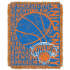 NBA New York Knicks 48x60 Triple Woven Jacquard Throw