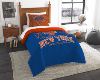 NBA New York Knicks Twin Comforter Set