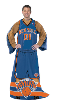 NBA New York Knicks Uniform Huddler Blanket With Sleeves