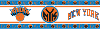NBA New York Knicks Wall Paper Border