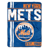 MLB New York Mets 50x60 Micro Raschel Throw