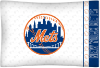 MLB New York Mets Micro Fiber Pillow Cases (set of 2)