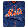 MLB New York Mets 50x60 Raschel Throw