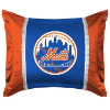 MLB New York Mets Pillow Sham - Sidelines Series