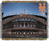 MLB New York Mets Stadium 48x60 Tapestry Throw