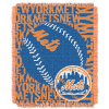 MLB New York Mets 48x60 Triple Woven Jacquard Throw