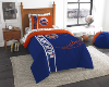 MLB New York Mets TWIN Size Bed In A Bag