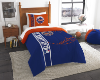 MLB New York Mets Twin Comforter with Sham