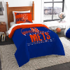 MLB New York Mets Twin Comforter Set