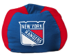 NHL New York Rangers Bean Bag Chair