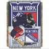 NHL New York Rangers Home Ice Advantage 48x60 Tapestry Throw