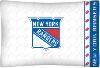 NHL New York Rangers Micro Fiber Pillow Cases (set of 2)