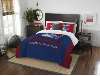 NHL New York Rangers QUEEN Comforter and 2 Shams