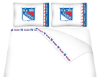 NHL New York Rangers Micro Fiber Bed Sheets
