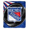 NHL New York Rangers SHERPA 50x60 Throw Blanket