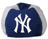 MLB New York Yankees Bean Bag Chair