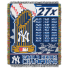 MLB New York Yankees Commemorative 48x60 Tapestry Throw